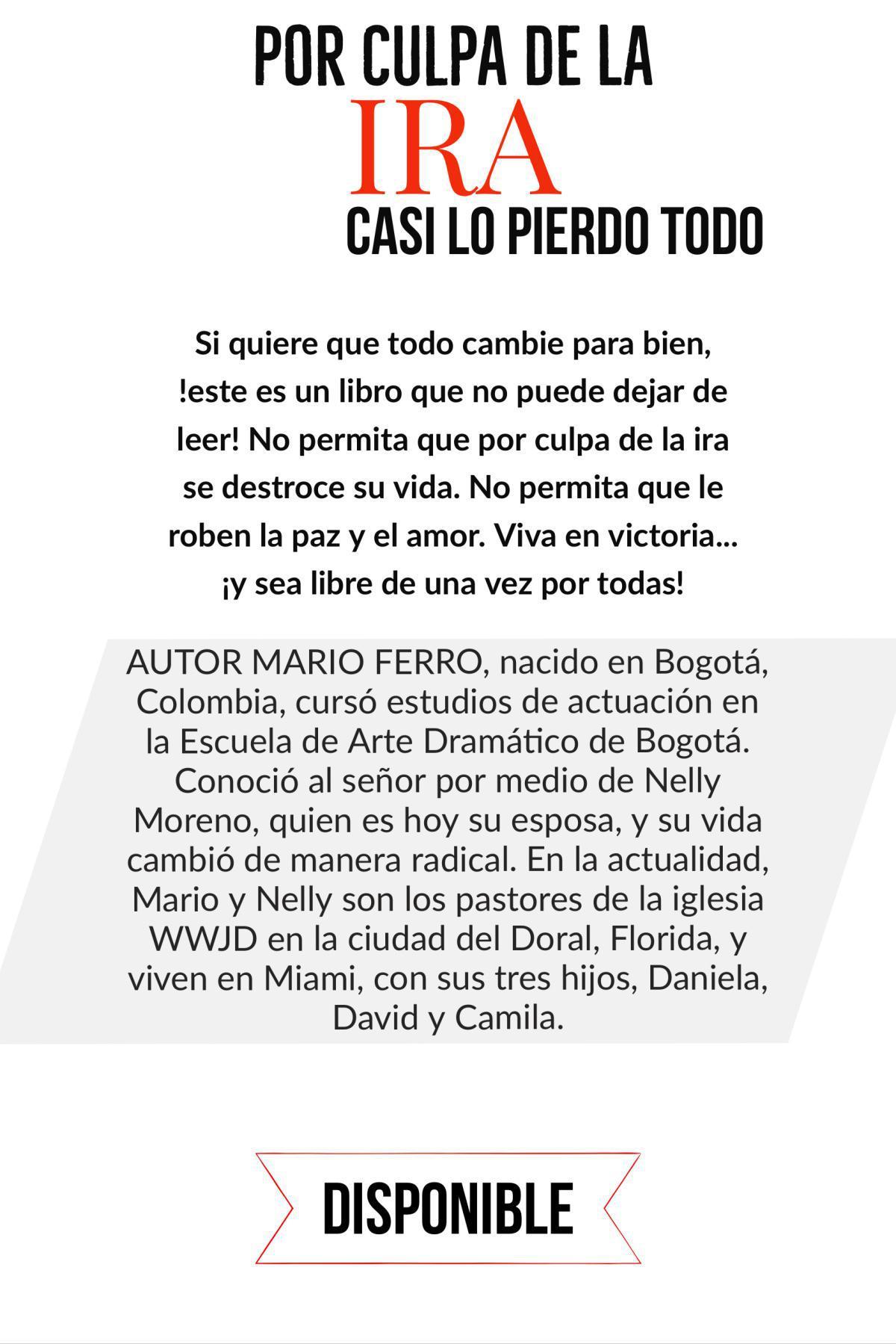 POr Culpa De La Ira Text