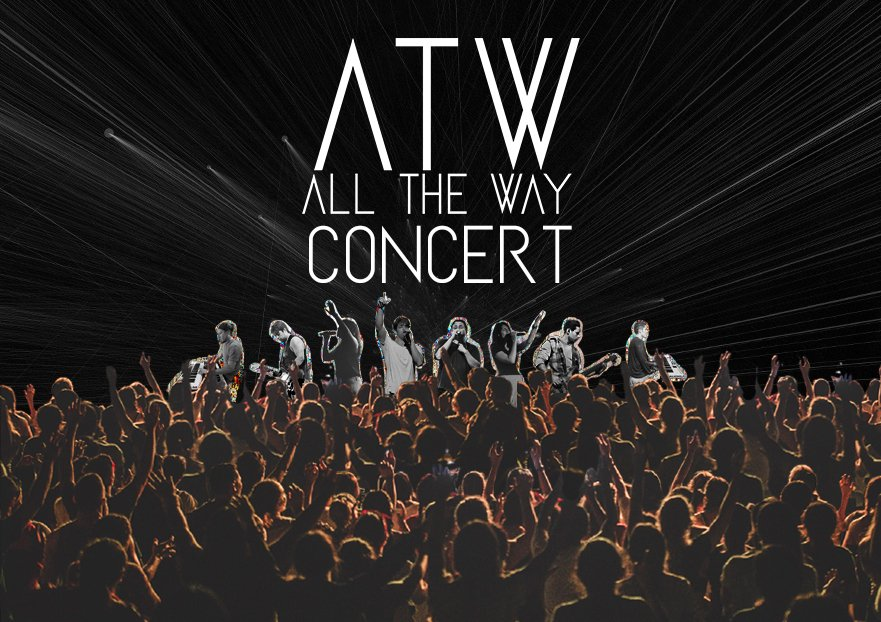 All The Way Concert App and Web Cover
